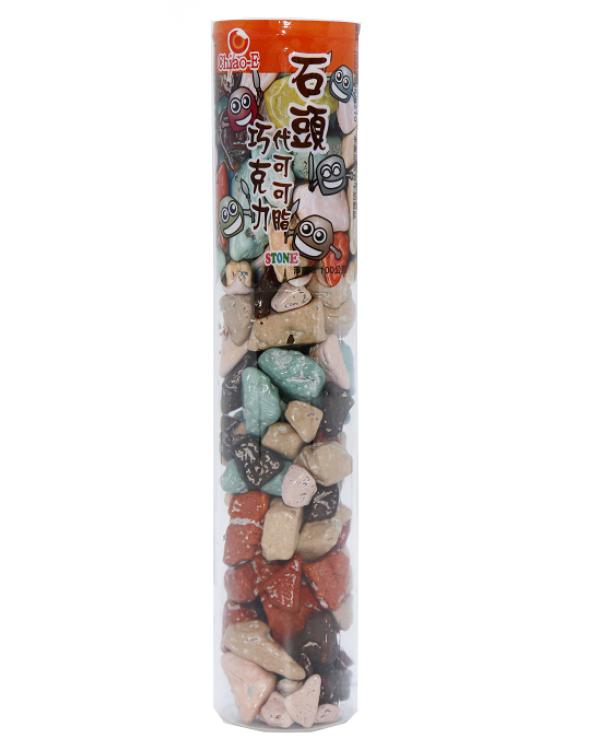 巧益石頭巧克力(試管)100g