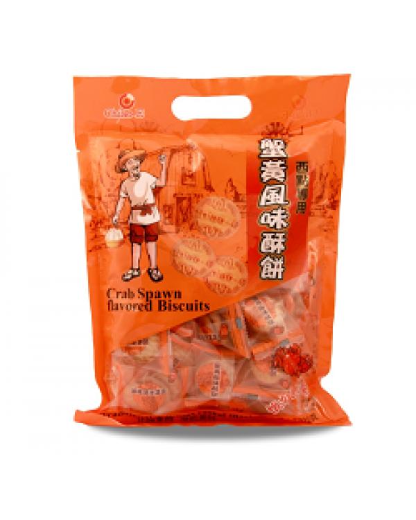 巧益蟹黃風味酥餅 210g