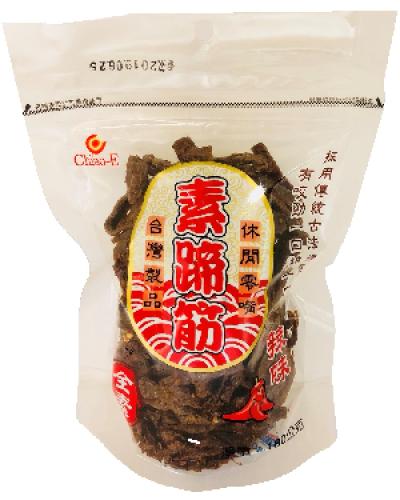 巧益素蹄筋-辣味(全素)180g