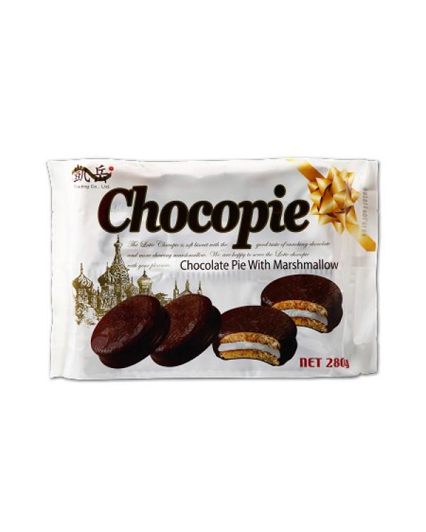 巧益巧克力派280g(10粒)
