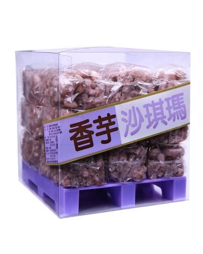 巧益棧板沙琪瑪-香芋360g