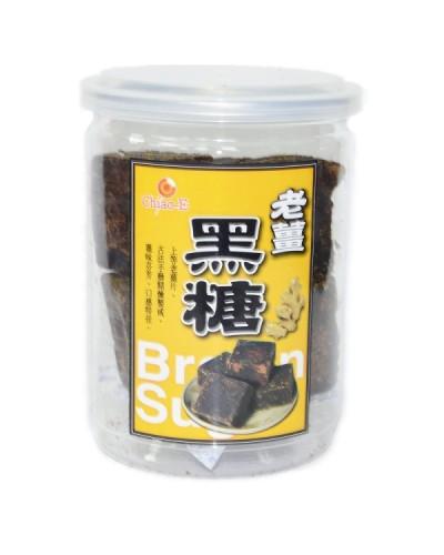 巧益手工黑糖塊-薑味黑糖 (240g)