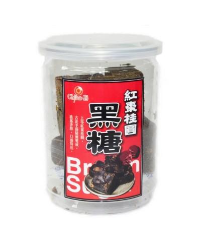 巧益手工黑糖塊-桂圓紅棗黑糖 (240g)