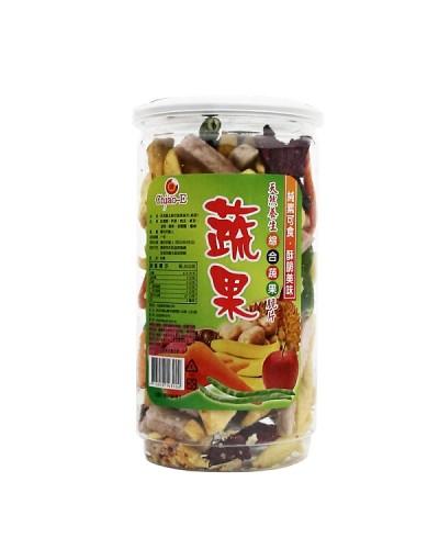 巧益綜合蔬果脆片170g