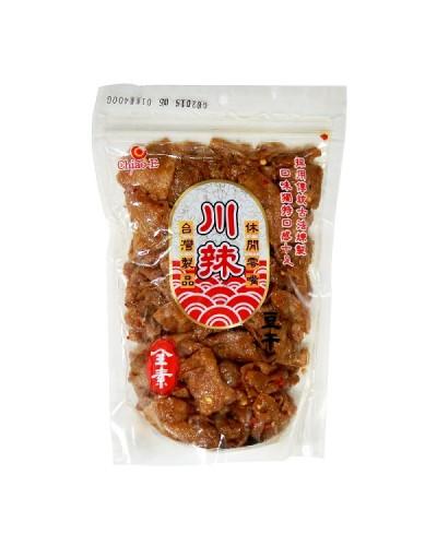 巧益川味麻辣豆乾(全素)400g