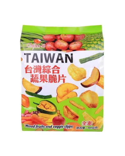 巧益綜合蔬果片80g
