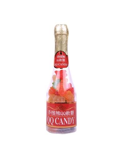 巧益香檳熊QQ軟糖罐 (毛重235g 淨重170g)