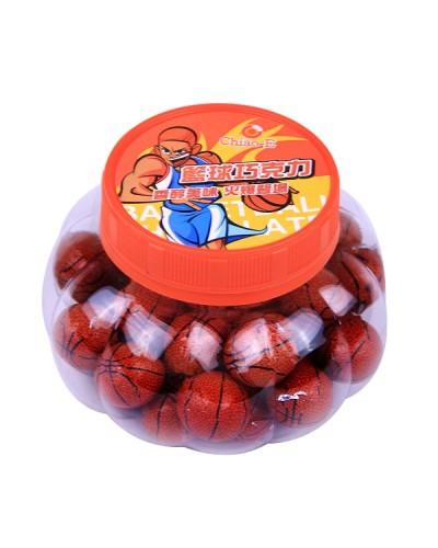 巧益籃球巧克力(南瓜罐)210g