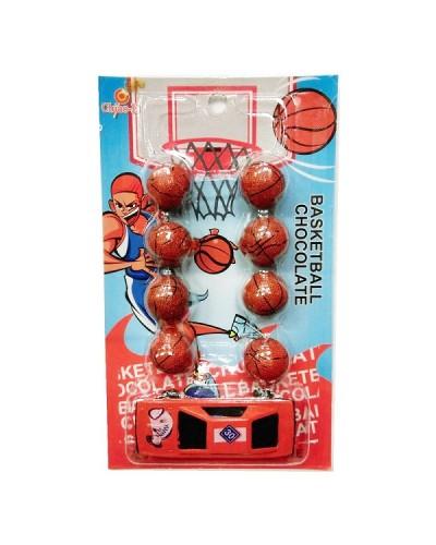 巧益 籃球汽車吊卡(8顆)40g