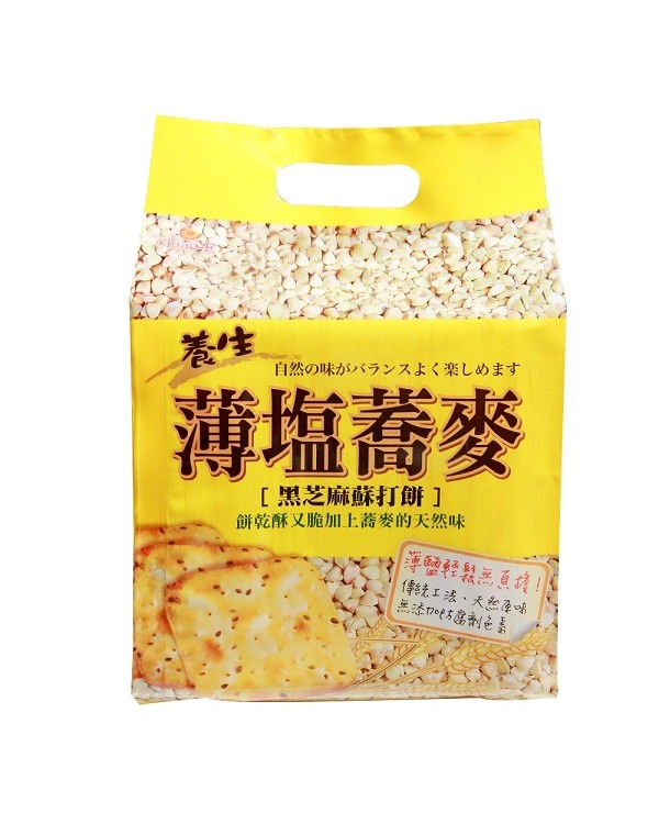 巧益蕎麥蘇打餅 (全素) 252g