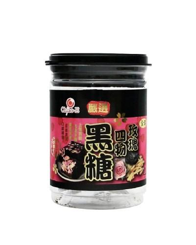 巧益嚴選玫瑰四物黑糖240g