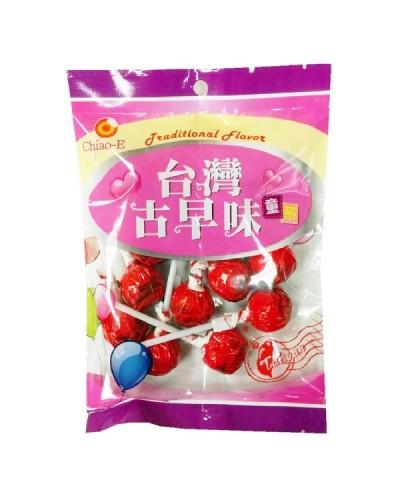 巧益紅玫瑰棒棒糖(綜合水果味)170g