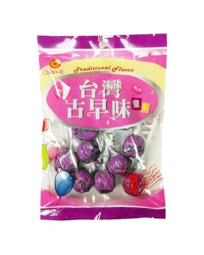 巧益紫玫瑰棒棒糖(綜合水果味)170g