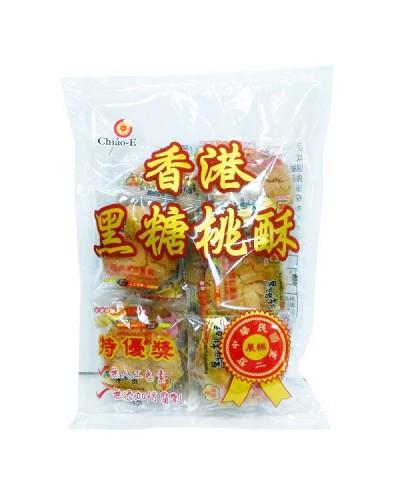 巧益 香港黑糖桃酥330g