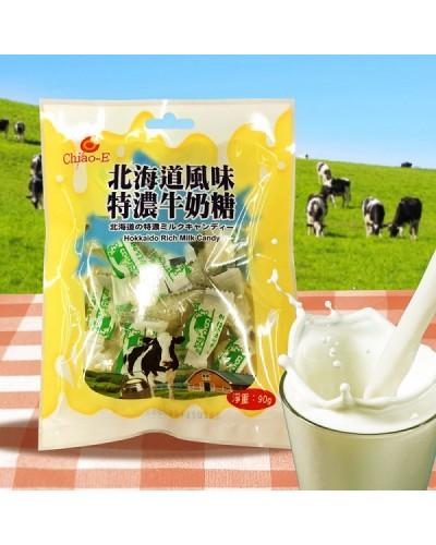 巧益北海道風味特濃牛奶糖 90g