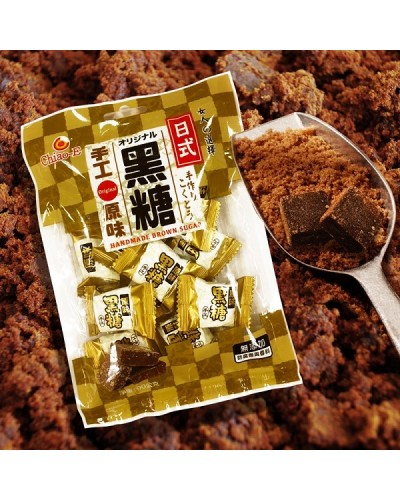 巧益日式手工原味黑糖塊 90g