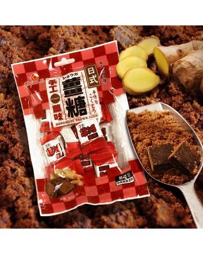 巧益日式手工老薑黑糖塊 90g