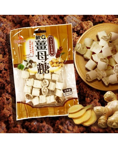 巧益軟Q薑母糖 150g
