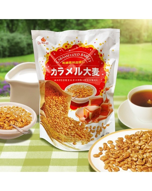巧益焦糖風味甜麥仁 150g