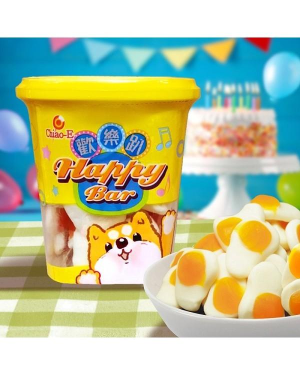 巧益荷包蛋造型QQ糖 140g