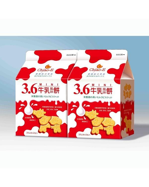 巧益3.6原味牛乳風味餅 100g