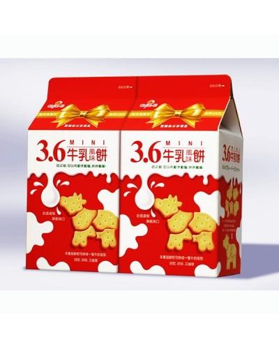 巧益3.6原味牛乳風味餅 450g