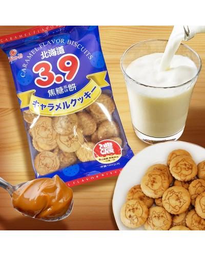 巧益3.9焦糖牛奶味牛奶餅 120g