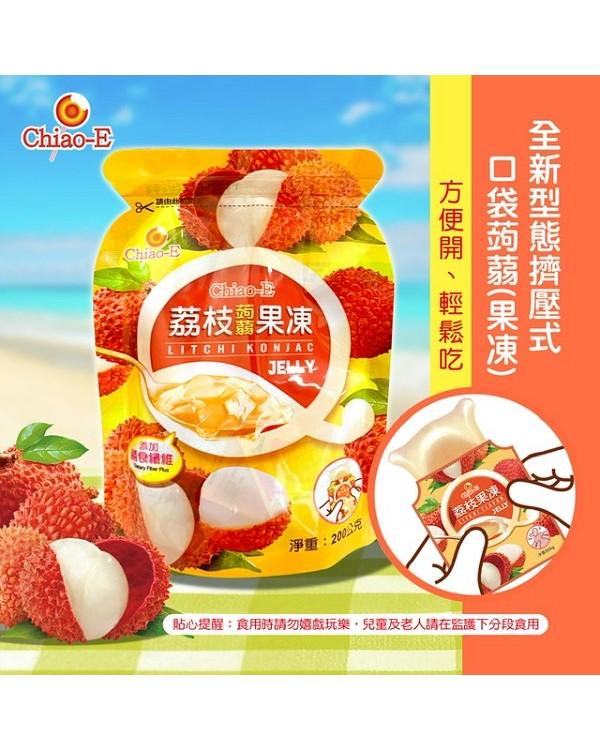 巧益荔枝蒟蒻果凍 (全素) 200g