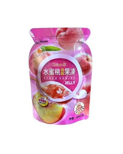 巧益水蜜桃蒟蒻果凍 (全素) 200g