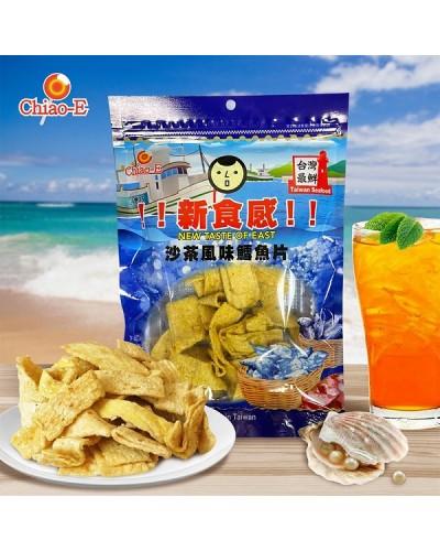 巧益沙茶風味鱈魚片 90g