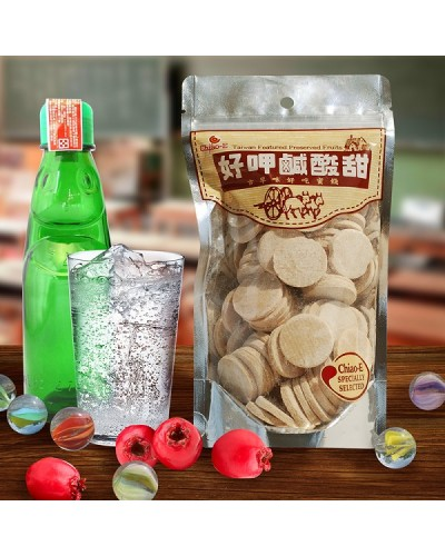 巧益仙楂片 淨重250g
