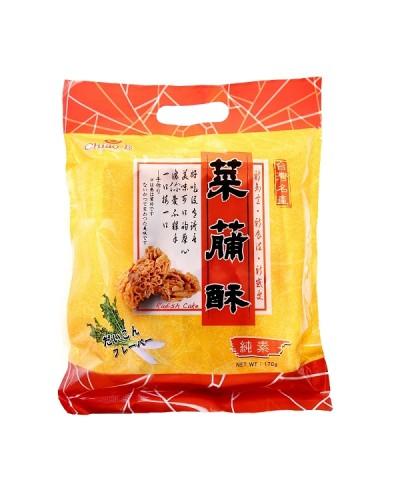 巧益台灣名產原味菜脯酥(全素)170g