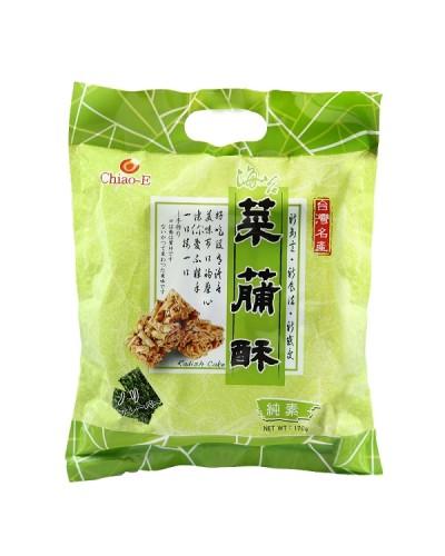 巧益台灣名產海苔菜脯酥(全素)170g
