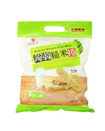 巧益蒟蒻糙米捲(海苔)250g