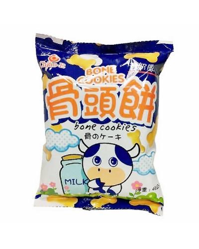 巧益 牛奶骨頭餅 40g
