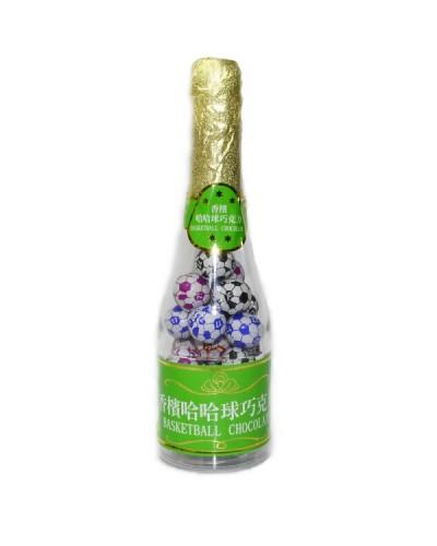 巧益香檳足球巧克力 (毛重215g 淨重150g)