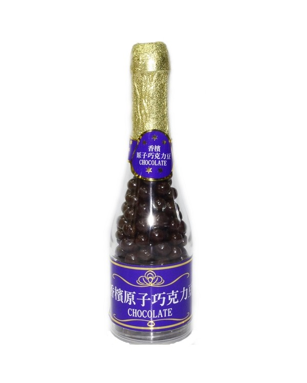 巧益香檳原子巧克力豆 (毛重215g 淨重150g)
