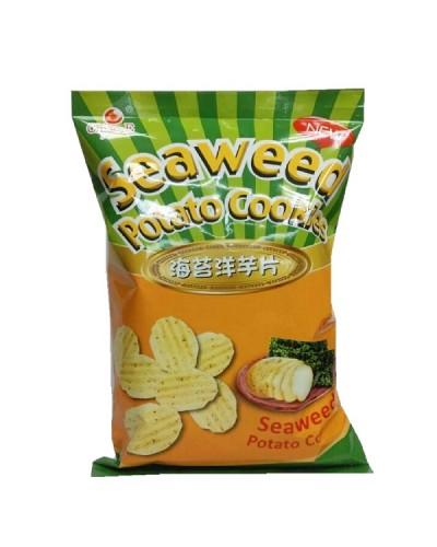 巧益海苔洋芋片(全素)250g