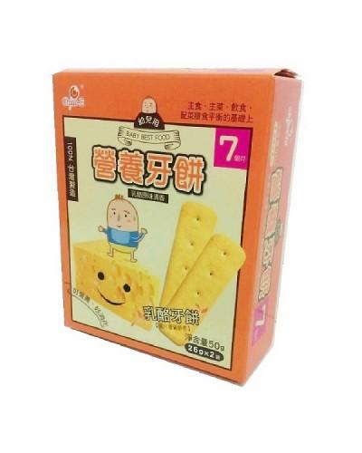 巧益 幼兒用營養牙餅(乳酪)50g
