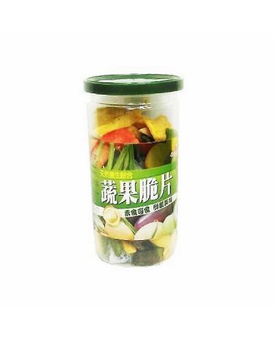 巧益綜合蔬果脆片-小 (毛重110g淨重65g)