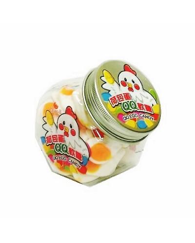 巧益 蛋形QQ軟糖 (毛重160g淨重120g)