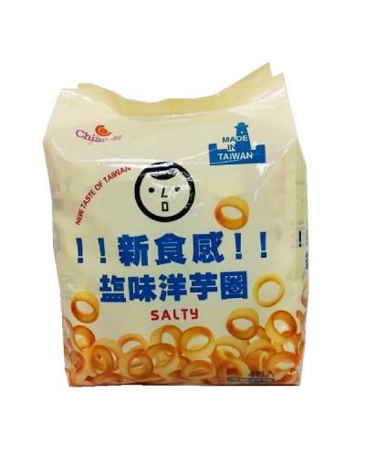 巧益 鹽味洋芋圈(奶素) 72g