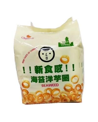 巧益 海苔洋芋圈(奶素) 72g