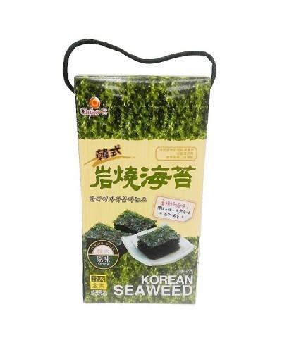 巧益 韓式岩燒海苔禮盒 4.5g*12包入
