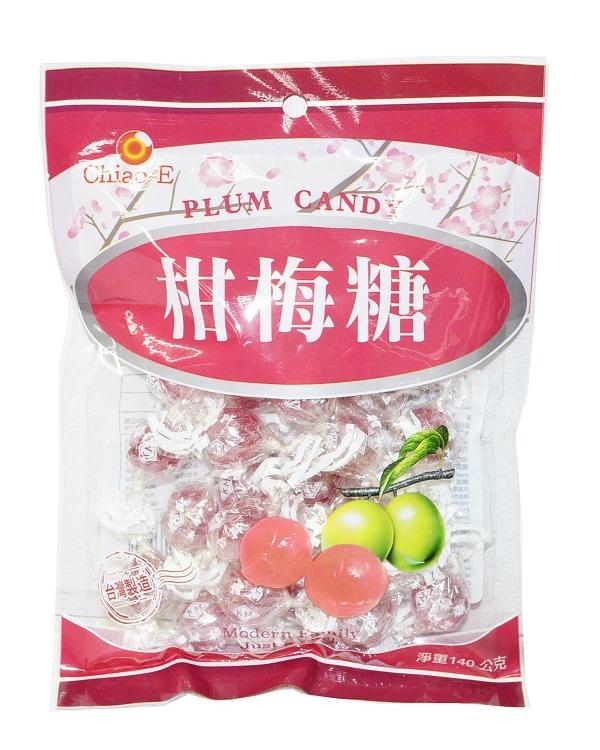 巧益柑梅糖 140g