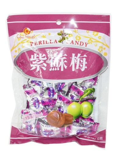 巧益紫蘇梅糖 140g
