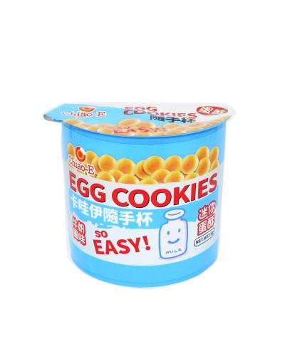 卡哇伊 日式迷你蛋酥-牛奶風味(附玩具)