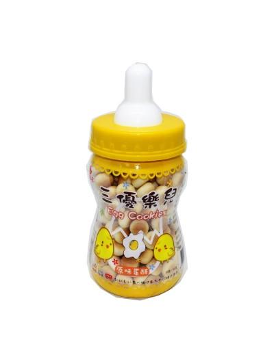 巧益奶瓶原味蛋酥 90g