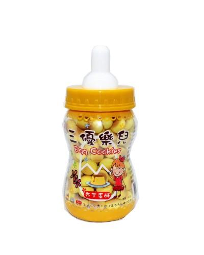 巧益奶瓶布丁蛋酥 90g