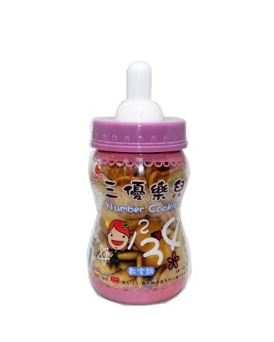 巧益奶瓶數字餅 90g